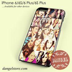Demi Lovato collage Phone case for iPhone 6/6s/6 Plus/6S plus