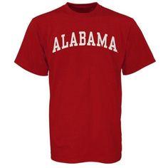 Men's Alabama Crimson Tide Crimson Arch T-Shirt