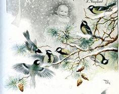 January - Theodor Severin Kittelsen Art Database, Romanticism, Abstract, Drawings, Artist, Painting, Artworks, Art, Summary