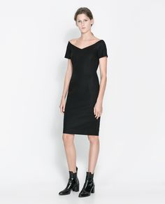 ZARA - WOMAN - V-NECK DRESS