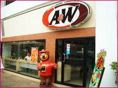 沖縄のファーストフードとして有名なAは、タイにもあります