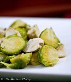 Clean Eating Chicken And Brussels Sprouts
