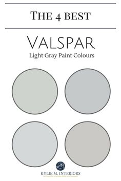 Valspar Paint: 4 Best Light Gray Paint Colours