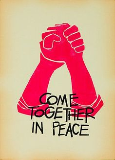 Original Vintage Poster Anti Vietnam Anti War Peace 60s Student Protest Liberal