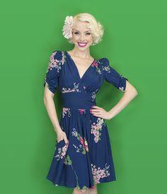 Trashy Diva Dolores Dress | Vintage Inspired Dress | Crimson Clover