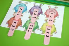 Pomysły na kreatywne spędzenie czasu z maluchem ! Activities and craft ideas for toddlers and preschoolers Alphabet Activities, Preschool Activities, Learning Time, Family Guy, Education, Marcel, Fictional Characters, Blog, Speech Language Therapy