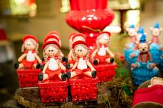 Caixinhas de biscuit - Festa Chapeuzinho Vermelho