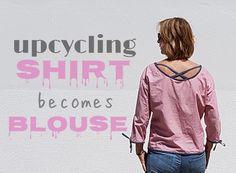 """Der absolut beliebteste Post meines Blog ist dieser:  """"Aus Hemd wird Bluse""""  Mittlerweile wurde er über 55.000 mal angeklickt! Wow! Danke! ..."""