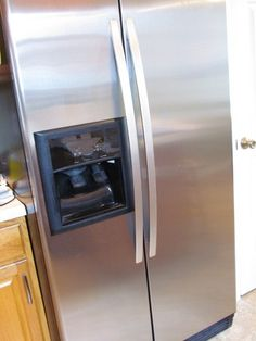 This didn't really work for me -- made my fridge a little shinier, but didn't get rid of fingerprints or marks