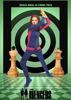 The Avengers Fan Art collage by jackiejr #emmapeel