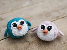 free recipe crochet amigurumi penguin
