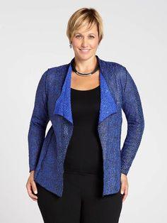 Conrad C Coated Yarn Swing Cardigan Blazer, Coat, Sweaters, Jackets, Style, Fashion, Latest Fashion, Down Jackets, Sewing Coat