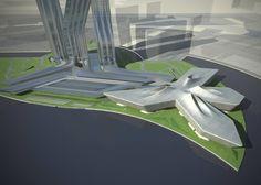 Dubai Financial Market - Architecture - Zaha Hadid Architects