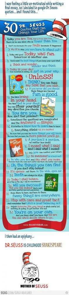 Cool Dr Seuss Quotes