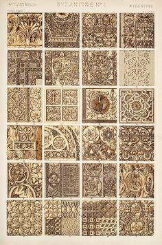 Decorative Arts: The grammar of ornament: [Byzantine ornament. Plates 28, 29, 29*, 30]