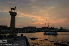 Ηλιοβασίλεμα Ρόδος Rhodes sunset by Theodoros Tsilikis on 500px