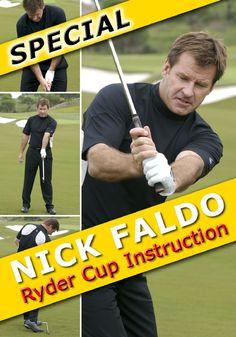 Nick Faldo Ryder Cup Instruction Special Nick Faldo golf instruction tips Johnny Miller Golf, Golf Images, Golf Putting Tips, Ryder Cup, Golf Videos, Golf Instruction, Golf Tips For Beginners, Golf Exercises, Perfect Golf