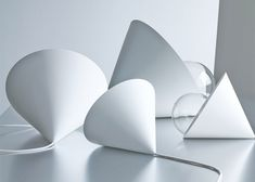 Studio Vit's Cone lights are shaped like party hats.