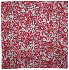 Handmade Liberty Tana lawn JUNE'S MEADOW  pocket handkerchief hankie hanky