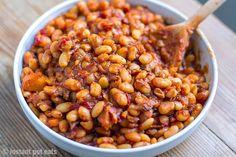 Secret Ingredient Instant Pot Baked Beans