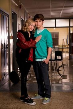 campbell saunders and maya matlin..degrassi showdown..adorable couple.! Love them :)