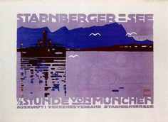 Image result for ludwig hohlwein starnberger see posters
