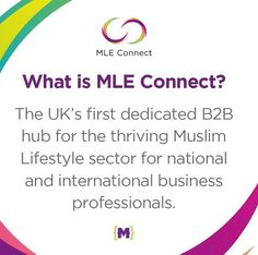 MLE Connect. The UK's first business event focusing on the global Muslim lifestyle sectors. If you are a startup entrepreneur or business owner who wants to tap into this thriving market AND learn from experts on expanding your business opportunities this is the place to be. LIMITED PLACES LEFT.  7th April Grand Connaught Rooms London  contact us at info@muslimlifestyleexpo.co.uk for more info. by mlexpo