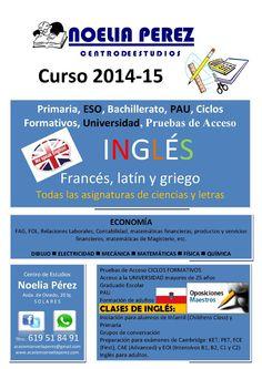 oferta educativa curso 2014-15