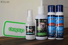 TruDog's dog dental health products line Dental Surgery, Dental Implants, Dog Dental Care, Dog Care, Coconut Oil For Dogs, Emergency Dentist, Care Logo, Dog Teeth, Healthy Teeth