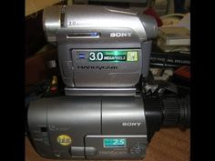 Convert Old tapes to Digital with a Mini DV camcorder - YouTube