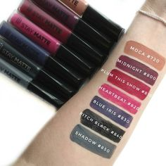 Rimmel London Stay Matte Liquid Lipstick Swatches Liquid