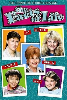This release from the classic sitcom THE FACTS OF LIFE offers all 24 episodes of the show's fourth season on four discs, following Blair, Tootie, Natalie, and Jo as they head back to school once more