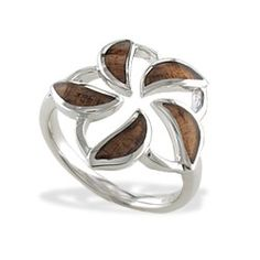 plumeria ring with  koa wood....want so badly!