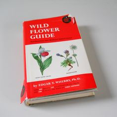 Vintage Wild Flower Guide Book • Hardcover 1948 Edgar Wherry Wild Flower Guide • Northeastern and Midland United States by NaturalistsCupboard on Etsy