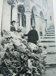 Hillside Village, Corfu Town, Corfu Greece, Cypress Trees, Vintage Cards, Lush, Scenery, Island, Image