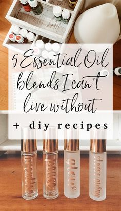When I first began using essential oils, I quickly realized that the easiest + most efficient way to carry my oils with me and use them throughout the day, was to make 10 ml glass roller bottle blends. Click through to read now, or pin to save for later!