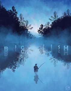 Movie Poster Movement — Big Fish by Mainger