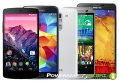 And the winners of the PowerAmp free phone contest are ...