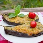 """Кучерикас - баклажаны, запеченные с сыром"""":"""