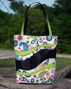 SewMichelle Pet Screen Tote Bag Easy Sewing Pattern for Beginners — SewMichelle