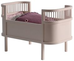 The Rosaline doll bed is based on the iconic Danish child's bed. This beautiful doll bed is made of solid wood and comes complete with mattress. Now all your favourite dolls have a place to rest. Size of bed: x x Doll Beds, Bed Sizes, Cot, Decoration, Girls Bedroom, Bassinet, Baby Room, Mattress, Duvet