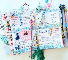 March 2016 with Amanda Baldwin featuring The planner society, Studio Fourteen40,  Just Darling Plannerclips, & MadebyElissa