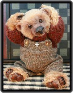 A Sweet Teddy Bear of mine { Maggie } by LBBears.....