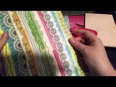 @mellyjay88 - How To Make a Midori Foldout Pocket - YouTube