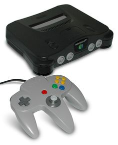 Nintendo 64- I owned this console before I got the GameCube, my second nintendo console.