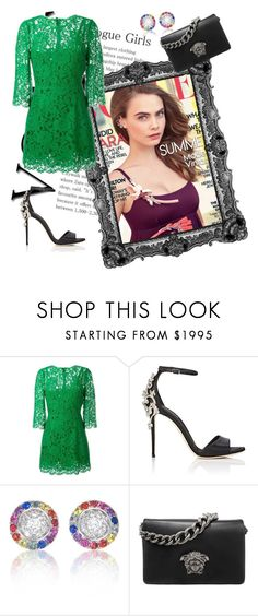 """Untitled #68"" by jenny-malik19 ❤ liked on Polyvore featuring Dolce&Gabbana and Versace"