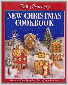 "Betty Crocker's ""New"" Christmas Cookbook 1993 First Edition"