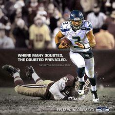 Seahawks. Russel Wilson #Number3