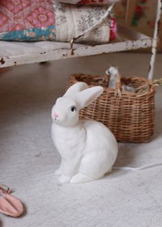 ウサギのランプ  Rabbit lamp