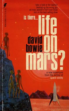 David Bowie Songs Reimagined as Pulp Fiction Book Covers: Space Oddity, Heroes, Life on Mars & Comics Vintage, Vintage Comic Books, Sci Fi Novels, Sci Fi Books, Aladdin Sane, Vintage Book Covers, Comic Book Covers, Book Cover Art, The Smiths